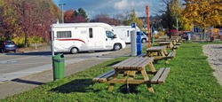 Aire pour motorhomes accessible à Aywaille