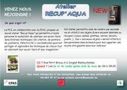 PCS : Atelier RECUP'AQUA - Atelier Jouets - Atelier Meubles