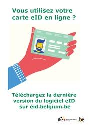 Carte d'identité eID : mise à jour du logiciel de lecture de carte