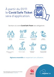 Covid Safe Ticket support
