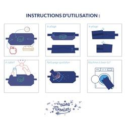 Emballage instructions utilisation