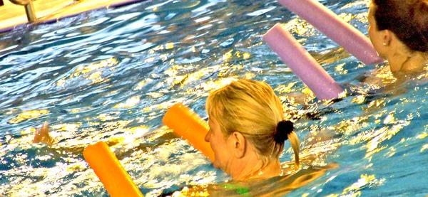   Piscine d'Aywaille, cours d'aquafitness