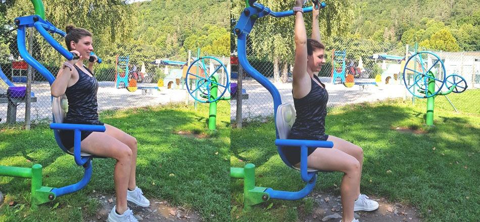 Zone FITPARK, pour la pratique du fitness