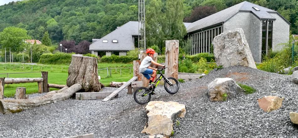 Zone Trial, pour la pratique du vélo trial