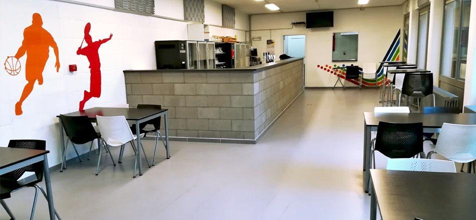 Cafétéria du hall omnisports