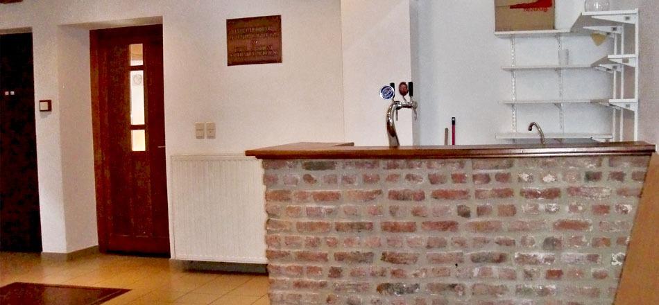 Halle de Deigné, Bar de la salle du rez de chaussée