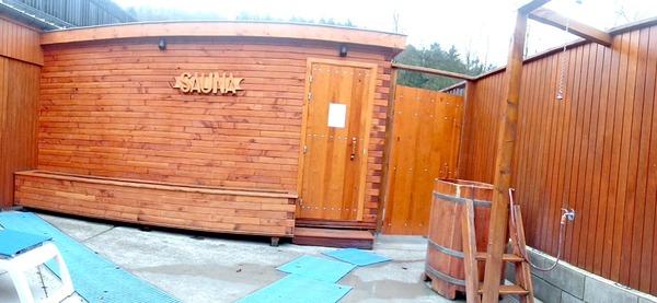 Piscine d'Aywaille, sauna