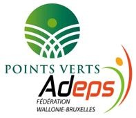 Points verts Adeps logo